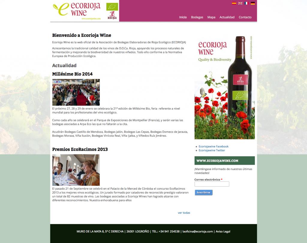 Ecorioja Wine