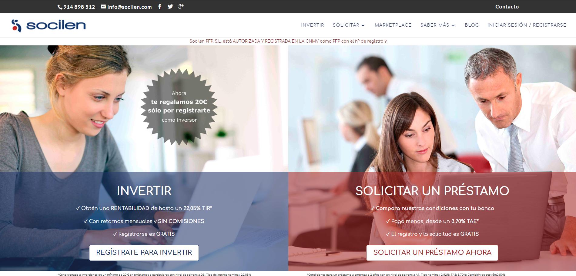Diseño Web Socilen