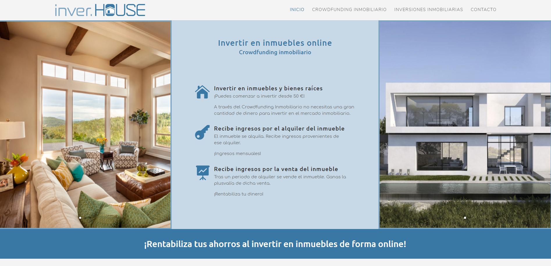 Diseño Web InverHouse